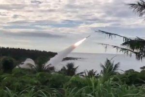 台灣實彈攔截演習 愛國者二成功攔截天弓二