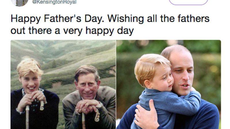 英國王室慶父親節 照片中少一人被吐槽