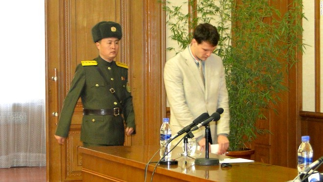 美大学生刚被朝鲜释放即死 议员犀利一语戳破真相(视频)