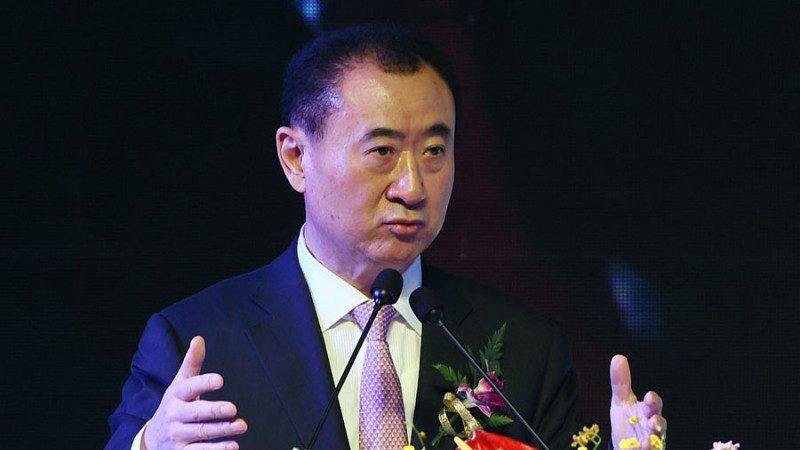陆首富王健林传涉政治风险 万达暴跌惊现股债双杀