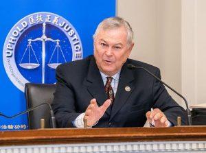 活摘器官研討會 美國會議員呼籲結束迫害