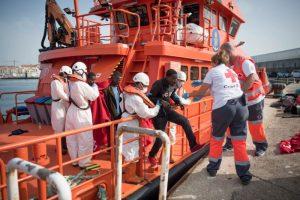 西班牙南岸外海 224移民獲救