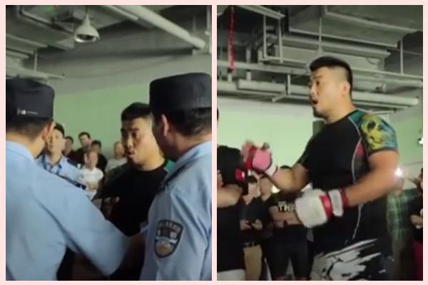 徐曉冬今日再戰太極 賽前10分鐘被警方帶走(視頻)