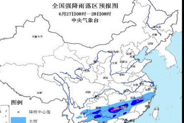 浙江贵州连日豪雨 2百多万人受灾
