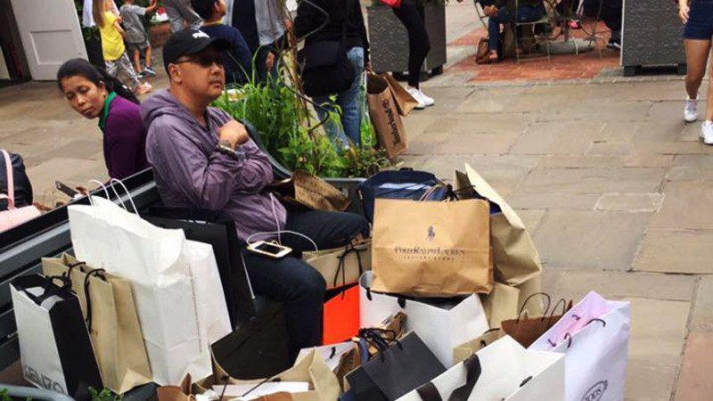 陸客游英國震驚台灣人 一張照片火遍網絡 網友評:以一當十
