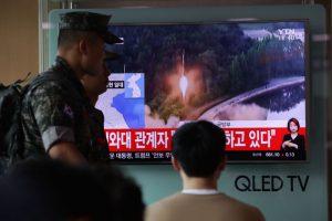 朝鮮射彈挑釁 川普:難以相信日韓忍耐這麼久