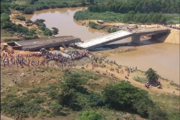 肯尼亞砸千萬找中企蓋橋 總統視察後兩週坍塌