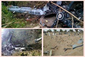 中印邊境對峙 印度軍機墜毀