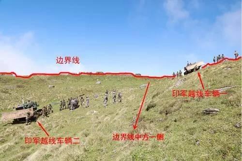 中印扎营对峙仅隔百米 印军态度强硬再增兵
