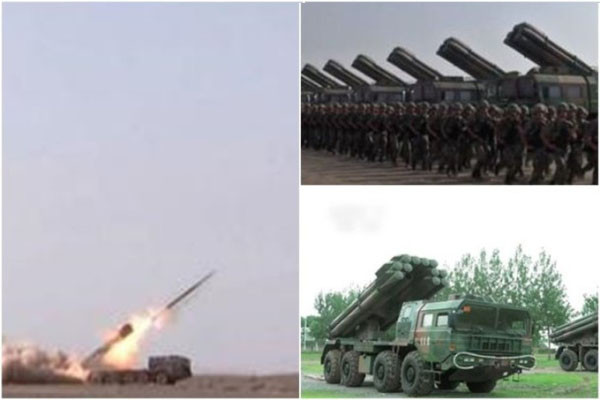中印對峙升級火藥味濃 大陸三軍均現異動