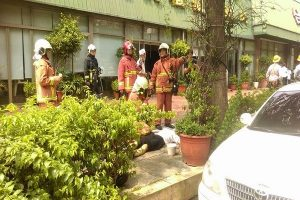 台中公益路牛排馆火警 疏散逾200名顾客3员工呛伤