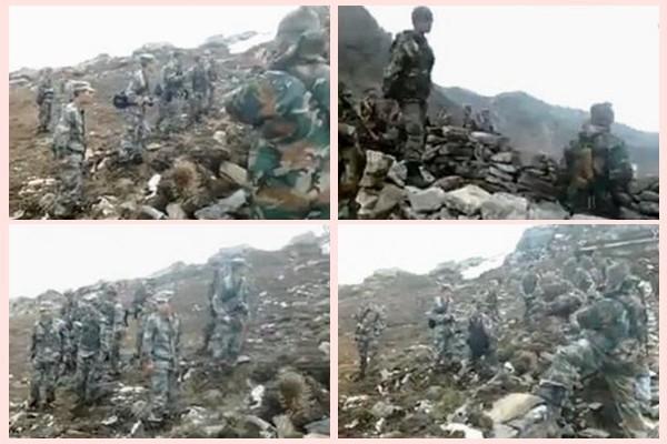 500米人鏈24小時對峙 印度陳兵18萬 中方僅3千