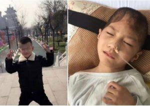 75%颅骨缺损视网膜脱落 陕西受虐男童律师称将追究刑事责任