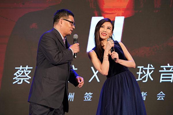 蔡健雅簽約環球 眾歌王歌后視頻送祝福