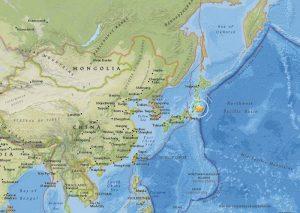日本東京東北方發生規模5.8地震 無發布海嘯警報