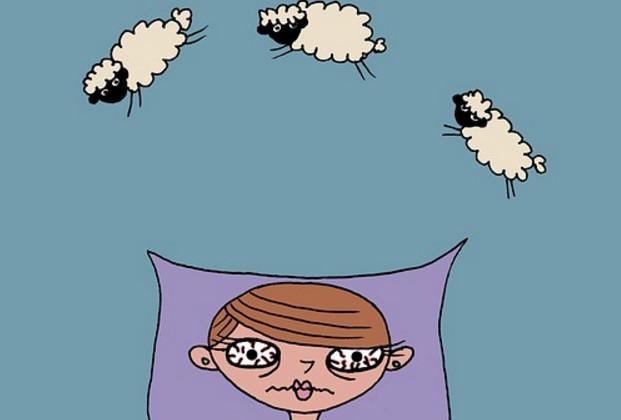 晚上睡觉还在失眠数羊吗? 快用这招轻松解决!