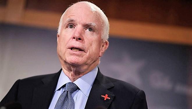 美重量级参议员麦凯恩 确诊患脑癌
