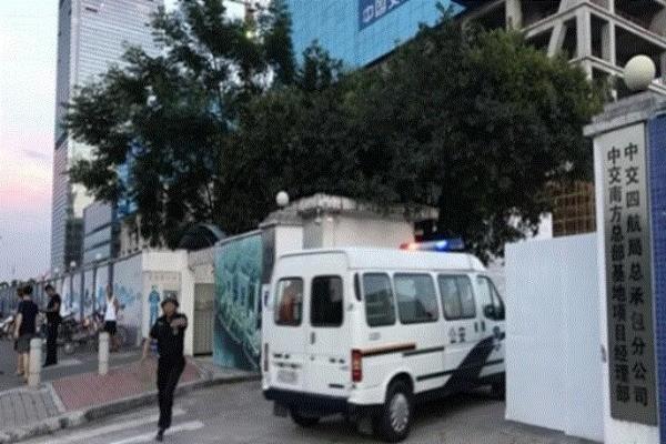 广州海珠一工程项目塔吊倒塌 酿7死2伤