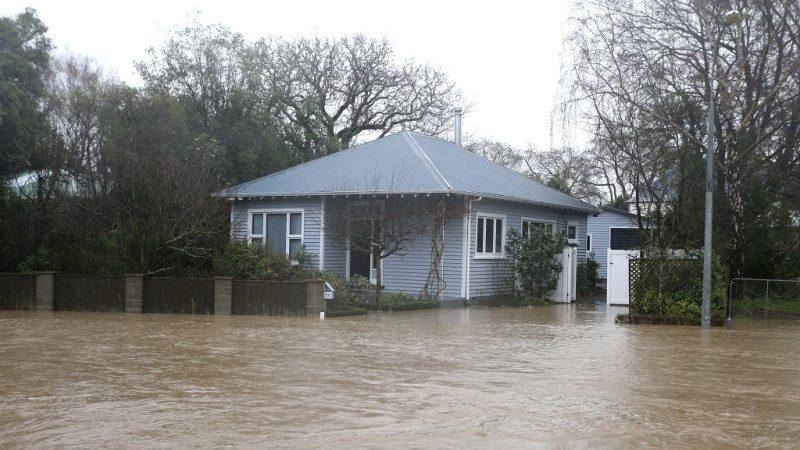 冬季風暴襲新西蘭 當局警告洪水或淹得更兇(組圖)