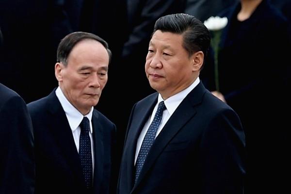 法媒:「老領導」干擾無效 王岐山留任 習家軍全面崛起