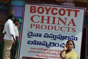 中印邊境對峙 印度民間掀「抵制中國貨」聲浪