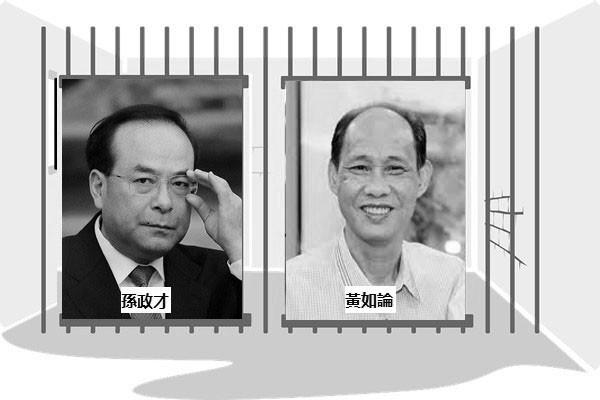 傳孫政才捲入黃如論案 政治局會議拍板立案
