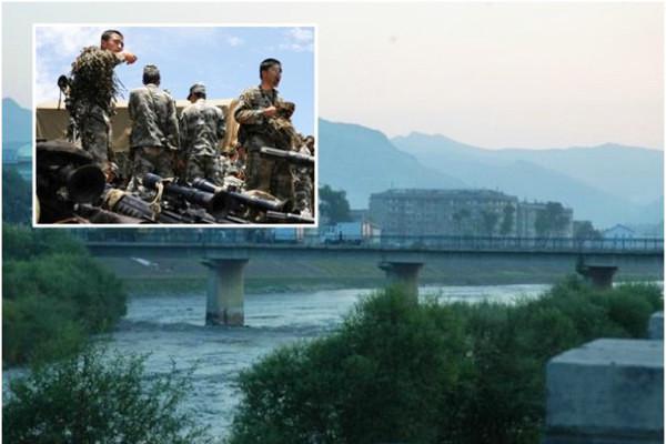 北京從新部署中朝邊境軍力 構築防核工事24小時監控