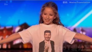 英國達人秀 – 現實版「妙麗」超萌8歲小魔術師震撼(視頻)