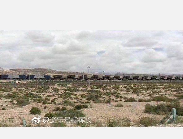 中印对峙无缓解 网传青藏铁路现大批军车