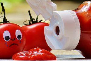 食物的真面目太驚人! 一瓶番茄醬裡的果蠅卵含量為30顆!
