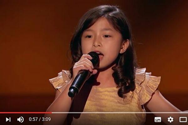 香港9歲女童 保送《美國達人秀》準決賽