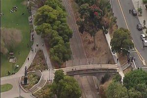 旧金山公园传枪响 蒙面歹徒持枪乱射3人受伤