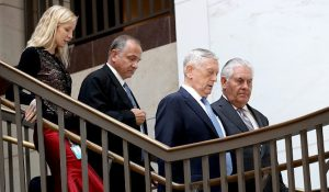 川普首發對朝戰爭聲調  國會舉行動武聽證會
