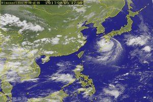 中颱諾盧牛步北上 專家:日本南部將有毀滅性強風暴雨