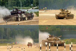 洞朗對峙未見分曉 中印坦克先在俄軍事比賽「開戰」
