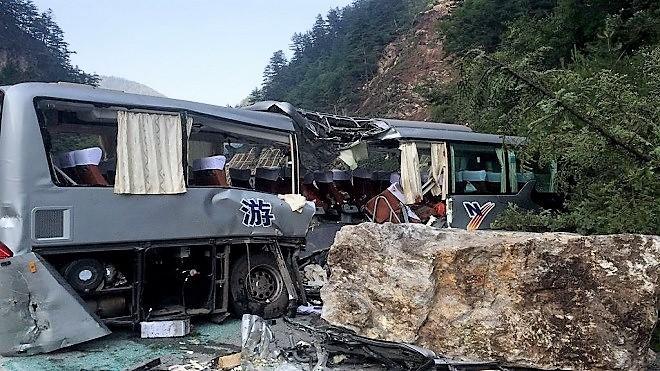 九寨溝5萬遊客遇7級強震 已致19死247傷(更新)
