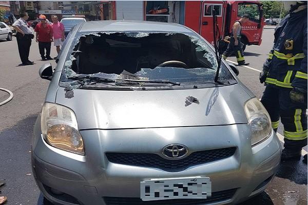 嘉義轎車離奇火警 原來是這個惹禍