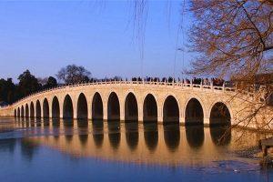 古迹美景 颐和园为何要造17孔桥呢?