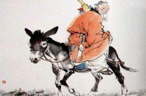 张果老为什么倒骑驴?