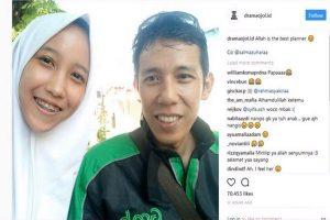 """百感交集!印尼少女网路叫车 司机竟是""""下落不明""""的父亲"""