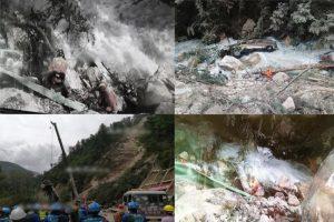 九寨沟强震落石击中旅巴坠河 寻获3遗体