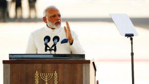 印独立日莫迪强硬发声 党媒同日首提中印战争