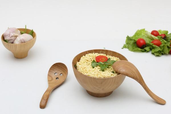 木製餐具容易滋生細菌 要這樣清洗