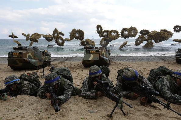 美韓乙支自由衛士軍演開場 英法等國派兵參加