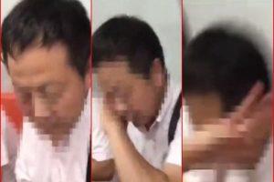 """上海""""狼叔""""地铁非礼遭打:遇上美女拳击手"""