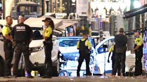 巴塞羅那恐襲 車撞觀光人行道至少13死50傷(視頻)