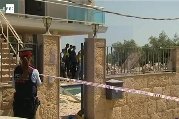 住宅製炸彈爆炸 與巴塞羅那致命恐襲有關