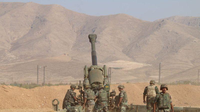 清剿IS 黎巴嫩陸軍火箭砲鎖定據點