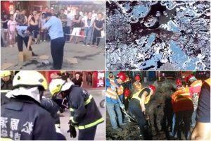 吉林街頭滲石油 網民憂慮強震前兆(視頻)