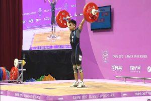 世大运男子举重62公斤 高展宏添一面铜牌(直播回放)
